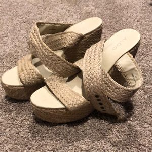 Aldo 4 1/2in Wedges Espadrilles